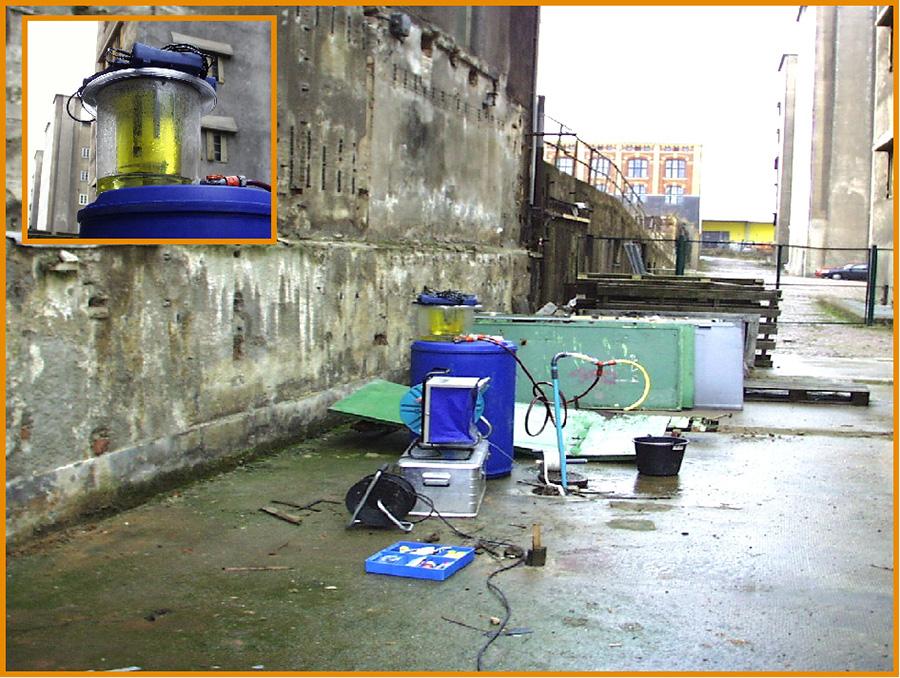 Grundwasserprobenahme